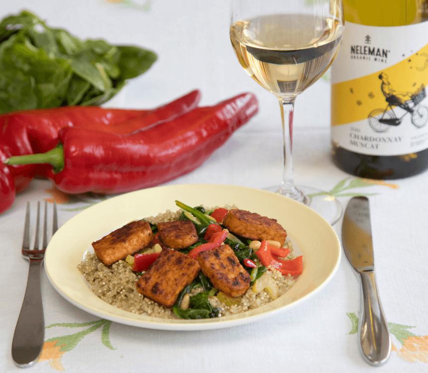 Quinoa-salade-chardonnay-Muscat