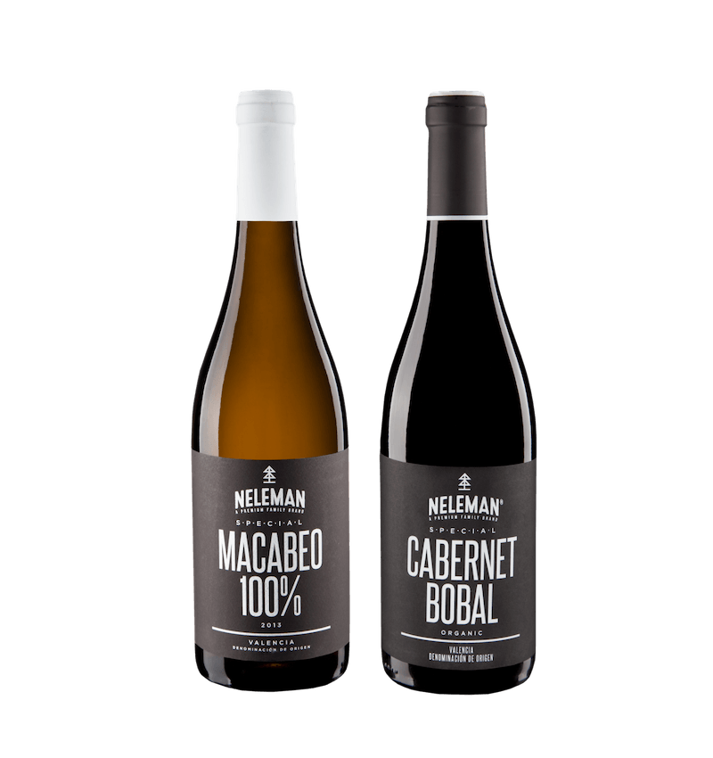 Giftbox Macabeo & Cabernet Bobal Organic